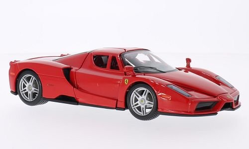 Ferrari Enzo Four (Ferrari Enzo, red, Model Car, Ready-made, Bburago 1:24)