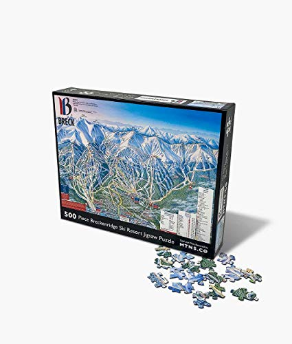 Breckenridge Jigsaw Puzzle | 500 Piece Ski Resort Jigsaw Puzzle (Best Cheap Ski Resorts)