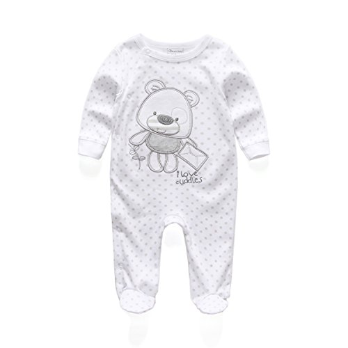 rfl1021-kiddiezoom-unisex-baby-sleepwear-jumpsuits-bear-pattern-rompers-with-long-sleeve-white0-3mon