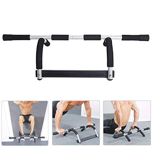 (Dporticus Power Tower Workout Dip Station Multi-Function Home Gym Strength Training Fitness Equipment )