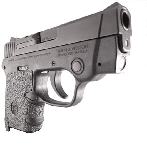 TALON Grips for Smith & Wesson Bodyguard 380, Black Rubber