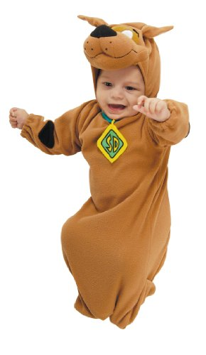 Cute Scooby-Doo Baby Bunting Costume with Scooby Doo Hood