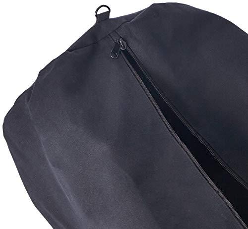 Stansport Deluxe Duffel Bag w/Zipper, Black – 50″X18″X18″