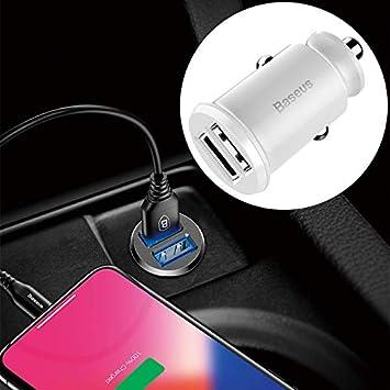 Cargador de Cable en el Coche para iPhone, Galaxy, Huawei ...