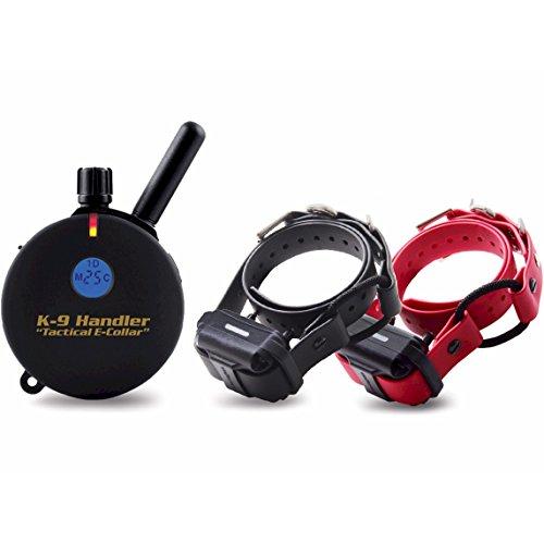 Cheap Educator K9-802 B33 Two Dog K9 Handler 1 Mile Big Dog Remote Dog Training Collar, 33″ Bungee Collar