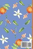 Orange Notebook: Cornflower Blue Orange gifts for