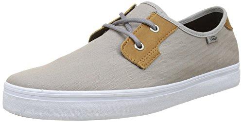 Sneakers Vans uomo a da pesce Sf Drizzle spina Low Twill Michoacan Grey Mn di STn4ZxTw