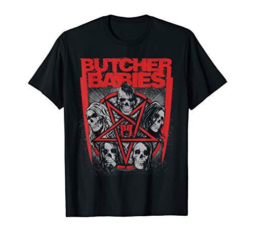 Butcher Babies Pentagram T-Shirt