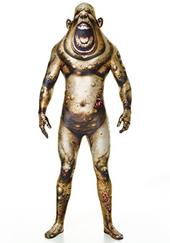 Awesome Scary Halloween Costumes (Morphsuits Men's Boil Monster Adult Fun Costume,)