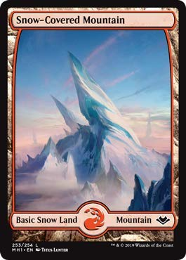 Magic: The Gathering - Snow-Covered Mountain - Modern Horizons