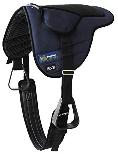 CHALLENGER Horse Saddle PAD Western Kids Gel Neoprene Bareback Pad Stirrups 39186NV
