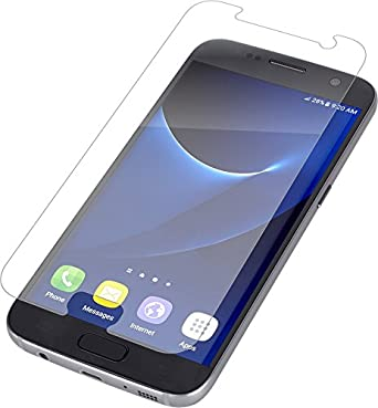 Amazon.com  ZAGG InvisibleShield Glass Screen Protector for Samsung Galaxy  S7  Cell Phones   Accessories 0d6bcc25514e