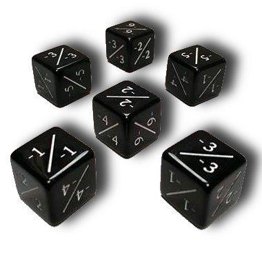 高品質の人気 Set of 6 MTG MTG -1/-1 (Black) Counter Dice (Black) 6 B072C4F1XY, 人気沸騰ブラドン:b693adb8 --- arianechie.dominiotemporario.com