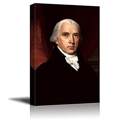 Made With Love, Fascinating Artistry, Portrait of James Madison by John Vanderlyn (4th President of The United States) American Presidents Series