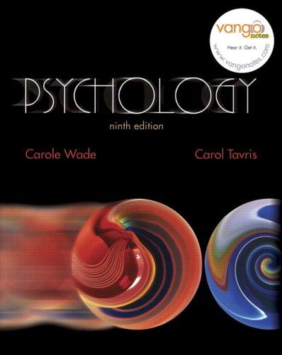 Psychology (9th Edition) (MyPsychLab Series)