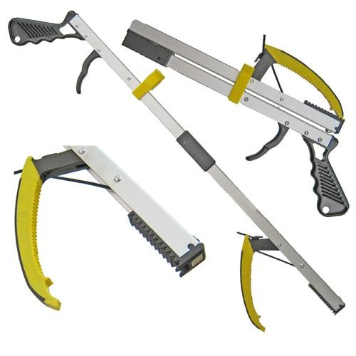 ArcMate ErgoMate Deluxe Reacher Collapsible Grip, Yellow by ArcMate (Image #1)'