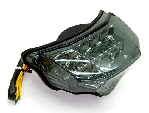 MZS LED Integrated Tail Light Turn Signal Blinker for Yamaha FZ6 FAZER FZ-6 FZ600 2004 2005 2006 2007 2008 (Smoke) by MZS (Image #5)