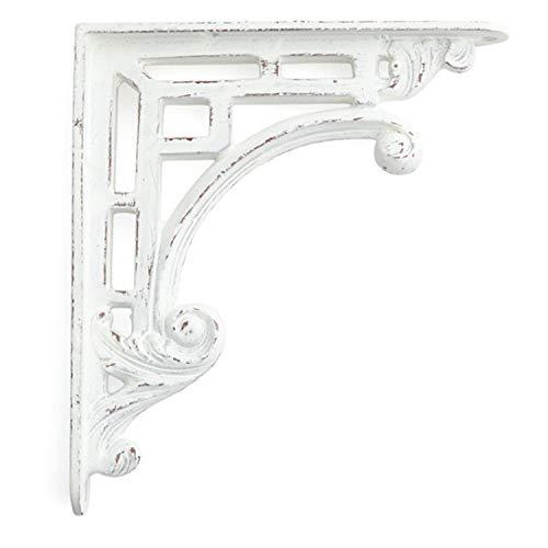 """Signature Hardware 922253 Traditional 8"""" Cast Iron Shelf Bracket"""