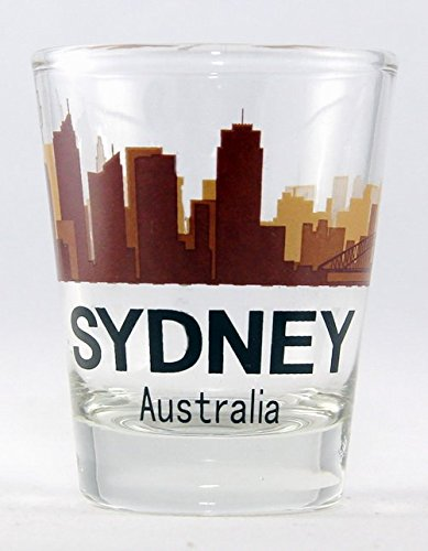 Sydney Australia Sunset Skyline Shot ()