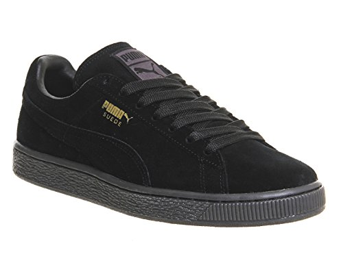 Noir Puma Adulte Baskets Mode Mixte Suede Classic Mono OqwRqFHYa