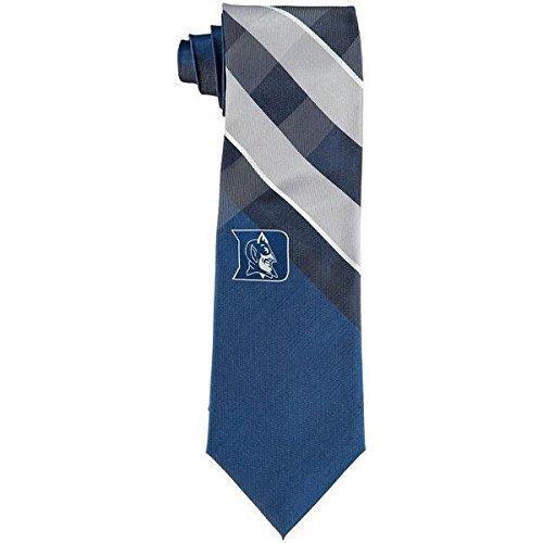 Duke Grid Neck Tie with NCAA College Sports Team Logo ()