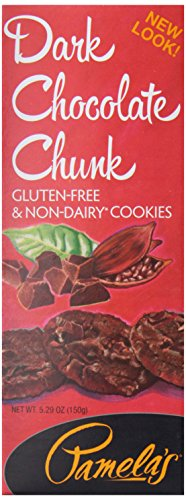 Pamela's Products, Organic Dark Chocolate Chocolate Chunk Cookies, 5.29 oz