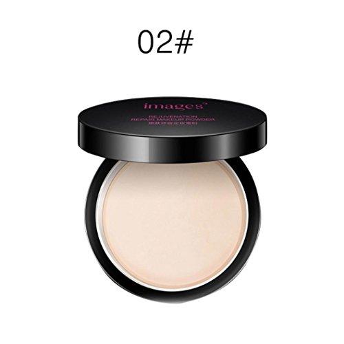 Makeup Brush,DMZing IMAGES Makeup Face Loose Finishing Powder Translucent Smooth Setting Foundation (B)