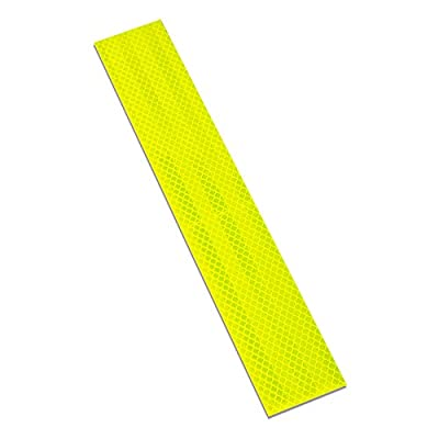 "3M 983-23 2"" X 12""-10 963-32 Flexible Prismatic Conspicuity Markings, 2"" Wide, 12"" Length, Red/White (Pack of 10): Industrial & Scientific"