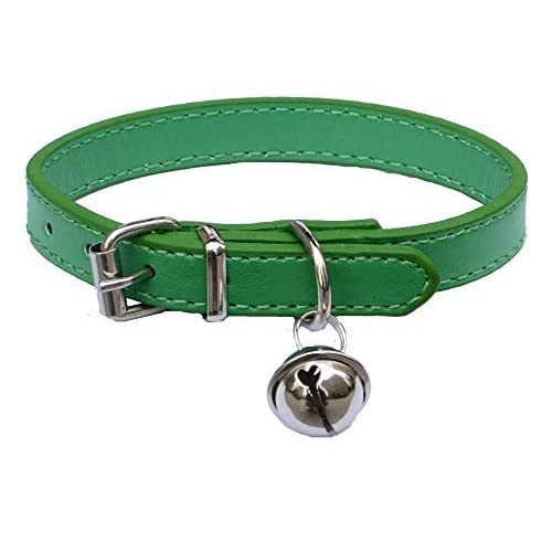 c1a1f83dad4b low-cost Fashion Leather Pet Collars for Cats,baby Puppies Dogs,adjustable 8