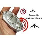 Porte Clé ANTI MOUSTIQUE Electronique - Ultra son - Répulsif BIO ultrasons