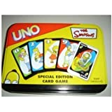 The Simpsons Uno Special Edition Card Game - Comes in a Tin by Sababa Toys