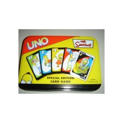 The Simpsons Uno Special Edition Card Game - Comes in a Tin by Sababa Toyshttps://amzn.to/2HKZ4Oi
