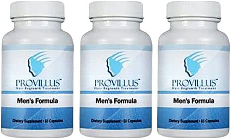 Provillus Hair Support For Men Capsules 3 Month Supply Amazon