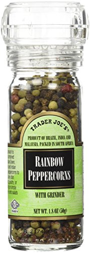Trader Joes Rainbow Peppercorns Grinder