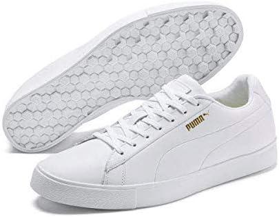 Puma Men's 192529 Golf Shoe, White White