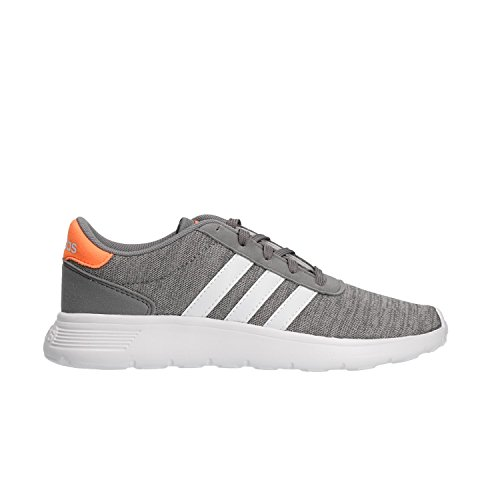 Adidas Enfants Unisexe Lite Chaussures De Course K Gymnase, Gris Multicolore (gris Trois F17 / Ftwr Blanc Salut-res S18 Orange)