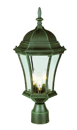 Bel Air Lighting Green Outdoor Lamp - 2