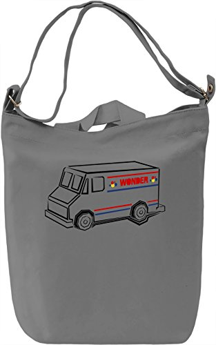 Wonder Bread Borsa Giornaliera Canvas Canvas Day Bag| 100% Premium Cotton Canvas| DTG Printing|