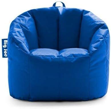 Big Joe Milano Bean Bag Chair, Multiple Colors – 32 x 28 x 25 – Stadium Blue