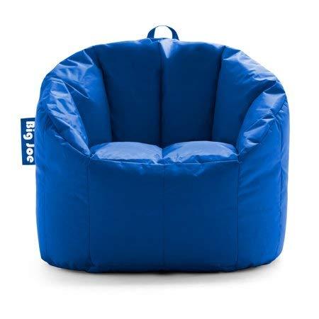 Brilliant Big Joe Milano Bean Bag Chair Multiple Colors 32 X 28 X 25 Stadium Blue Machost Co Dining Chair Design Ideas Machostcouk