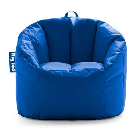 Big Joe Milano Bean Bag Chair, Multiple Colors – 32 x 28 x 25 – Stadium Blue