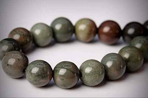 Approx. 32 Beads Lot - 6mm Rainforest Agate Color Grade AAA Round Loose Jewelry Making Beads 7.5