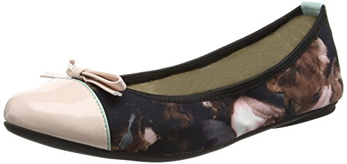 Butterfly Twists Cara, Bailarinas para Mujer Multicolour (watercolour Mint)