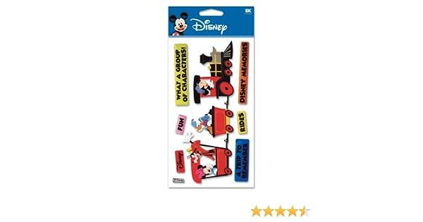 Disney MICKEY TRAIN 3D Sticker Embellishments