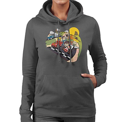 Super Fighting Kart Street Fighter Mario Women's Hooded Sweatshirt