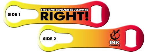 V-ROD™ Bone Bottle Opener and Pour Spout Remover: The Bartender is Always Right: Sunset