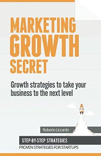 Marketing Growth Secret: Growth hacking, Marketing, PR and Brand strategies to lead your startup to success. [Roberto Liccardo] (Tapa Blanda)