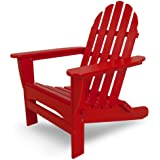 POLYWOOD AD5030SR Classic Folding Adirondack, Sunset Red