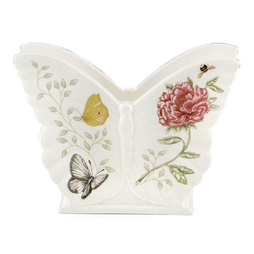 (Lenox Butterfly Meadow Porcelain Napkin Holder)