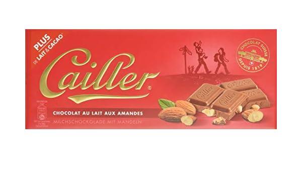Cailler, Galleta fresca de oblea (con almendras molidas 31%) - 10 ...